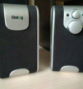 Колонки Dialog W-200