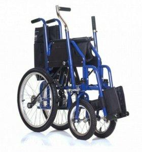 Кресло-коляска инвалидная с рычажные приводом