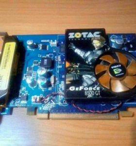 Видеокарта Zotac GeForce 8500 GT.