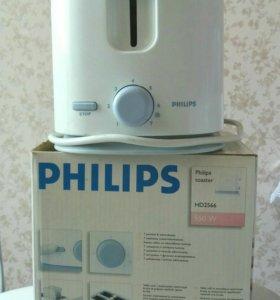 Б/У Тостер Philips HD 2566