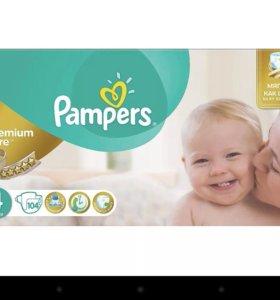 Pampers, premium care, 4, 52 штуки