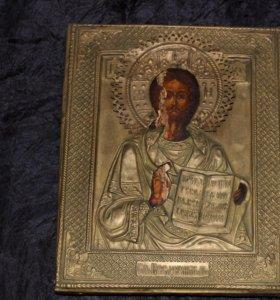 Икона старинная. 19 век. Антиквариат
