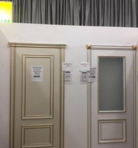 Распродажа дверей с витрины