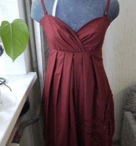 Выпускное платье с жакетом