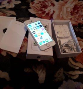 iPhone 5s silver 16gb новый