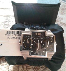 часы мужские брутальные большие Police PL13088JS
