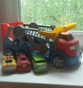 Машина от Мега Блокс