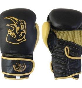 Перчатки боксерские детские, кожа