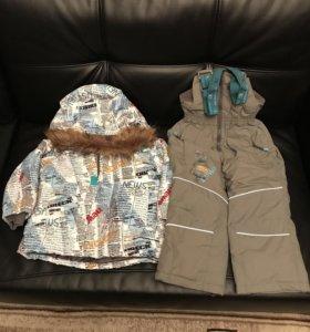 Новый полукомбинезон и куртка dakottakids 104-110