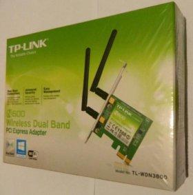 Новый WiFi-адаптер TP-Link 802.11n 2.4/5 ггц