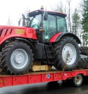 Перевозка тракторов и погрузчиков
