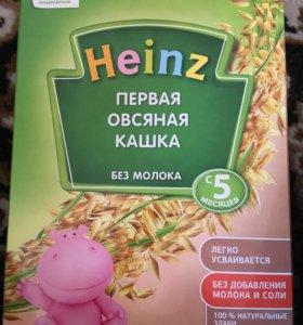 Детская каша овсяная Heinz c 5 месяцев