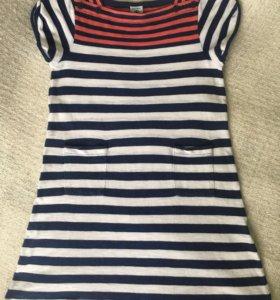 Платье Petit Bateau на девочку 5 лет