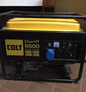 Бензиновый генератор COLT Sheriff 6500