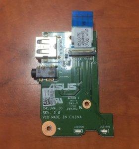 USB/audio плата ноутбука Asus X553M
