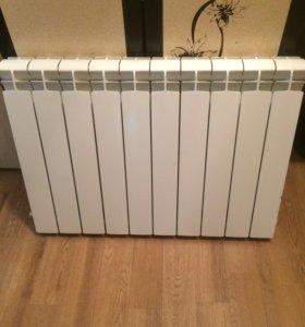 Радиатор металлический, 10 секций