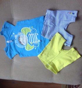 Футболка и шорты на малышку