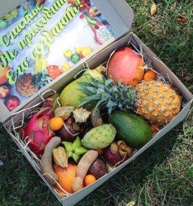 Вкусные экзотические фрукты из Таиланда