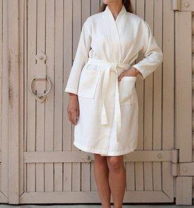 Халат кимоно экрю Luxberry