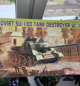 Dragon Models soviet Su-100 1:35 су-100 модель