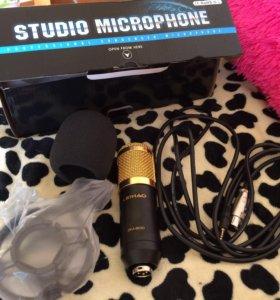 Новый конденсаторный микрофон bm-800