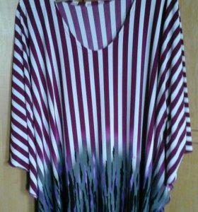 Блуза туника 58 60 раз