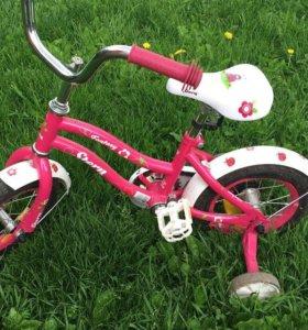 Велосипед на 3-4 года