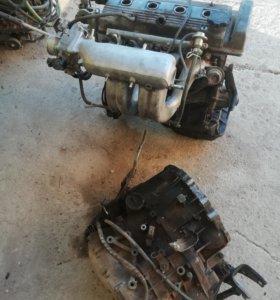 Двигатель с коробкой 7А