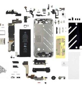 АКБ и запчасти для всех видов iPhone
