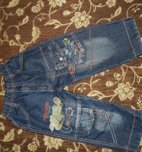 Продам двое джинсовых брюк