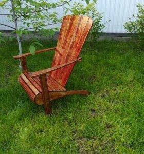 Кресла и лежаки из дерева