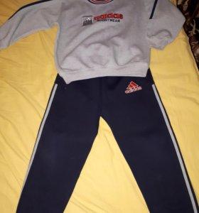 Adidas теплый костюм