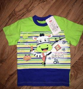 Новая футболка детская
