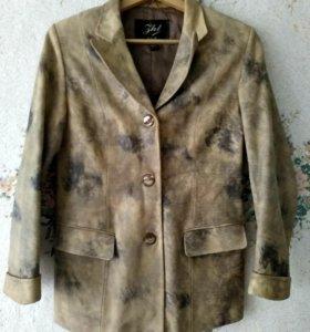 Коженный пиджак