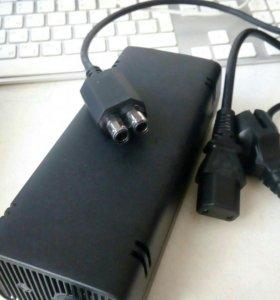 Блок питания для xbox 360 и композитный кабель