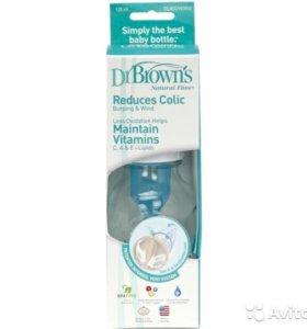 Бутылочка стеклянная Dr. Brown's 125 мл