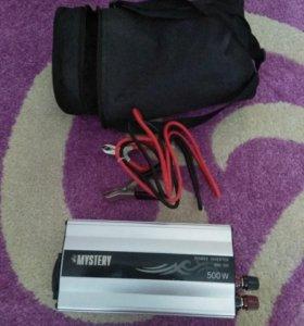 Автомобильный инвертор Mystery mac-500w
