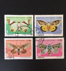Марка почтовая CUBA 1979г.