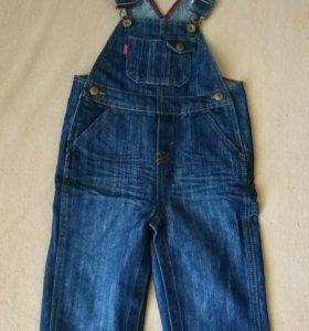 Детский джинсовый комбинезон Levis 24м (2года)