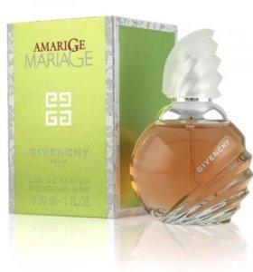 Парфюмированная вода Givenchy Amarige Mariage 30мл