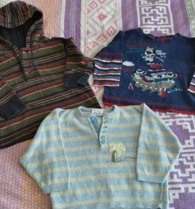 Пакет одежды на мальчика 86-92