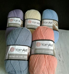 Турецкая пряжа YarnArt Merino De Luxe/50