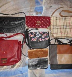 Женские сумочки.