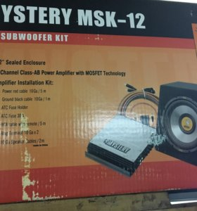 Сабвуфер Mystery MSK-12