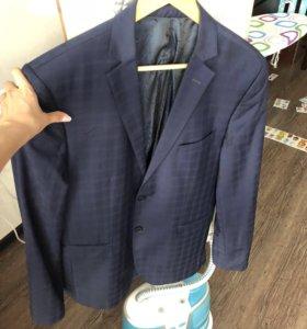 Пиджак размер 50, рост 8, приталенный