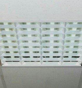 Светильник растровый врезной 600*600 (4лампы) Mast
