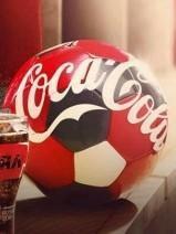 Мяч от Coca-Cola