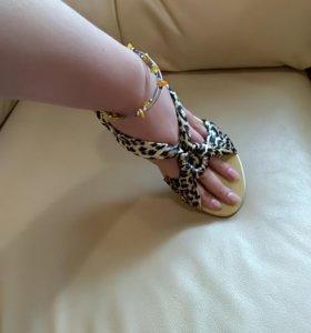 Босоножки сандалии балетки 39 размер