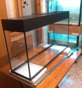 Новый аквариум 65 литров