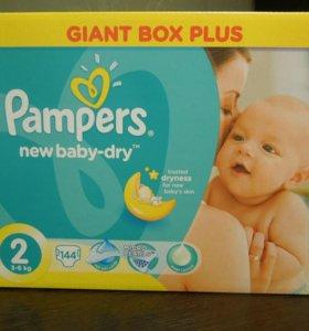 Pampers Premium Care 2 (3-6 кг)